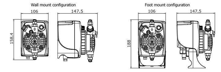 دوزینگ پمپ اتاترون مدل PKX